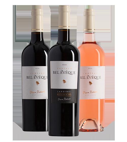 Vins Pierre Richard - collection vins à succès