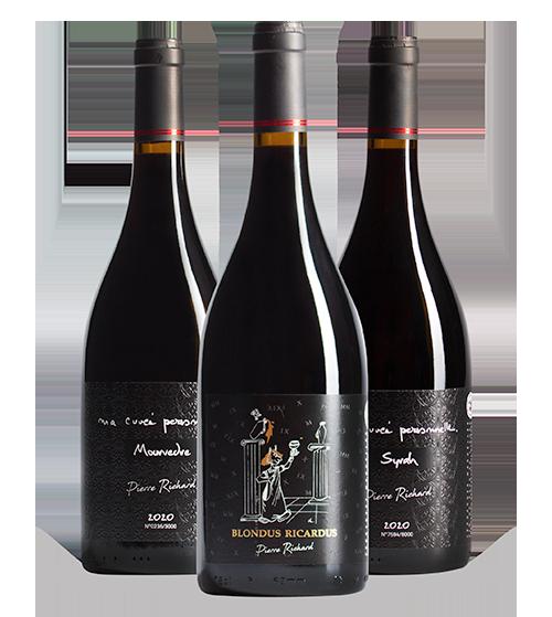 Vins Pierre Richard - collection vins d'auteur